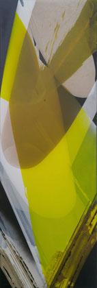 """""""Citrus"""" / Öl und Bitumen auf Leinwand / 50 x 150 cm € 590,-"""