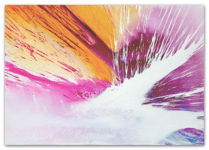 """""""Am Abend"""" Acryl auf Leinwand 70 x 100 x 3,5 cm  € 350,-"""