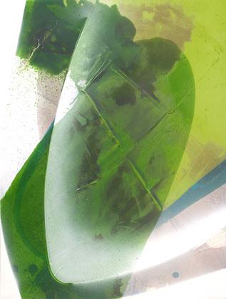 """""""Springtime"""" / Öl und Bitumen auf Leinwand / 60 x 80 cm - € 350,-"""