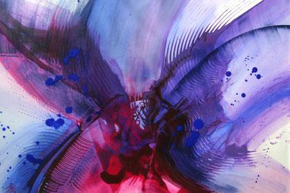 """""""Mystery"""" Acryl auf Leinwand / 70 x 100 cm  € 400,-"""
