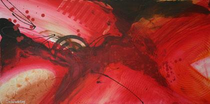 """""""Pure""""  Acryl auf Leinwand / 50 x 100 cm  € 290,-"""