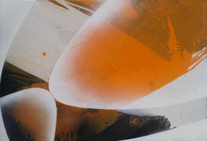 """""""Orange juice"""" / Öl auf Leinwand / 80 x 120 cm (verkauft)"""