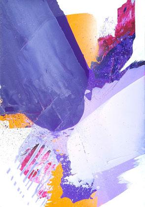 """Lambada"" / Acryl und Öl auf Leinwand / 70x 100 cm - € 490,-"