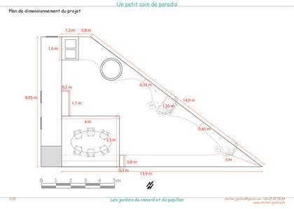 Plan de dimensions