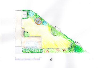 Plan masse du projet