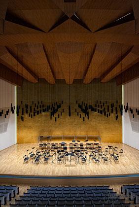 Auditorio Alicante (ADDA) | Fotografía interiorismo.