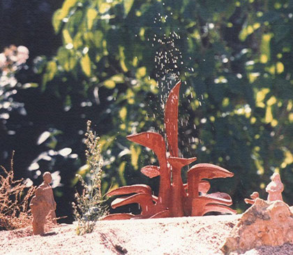 fontaine plante