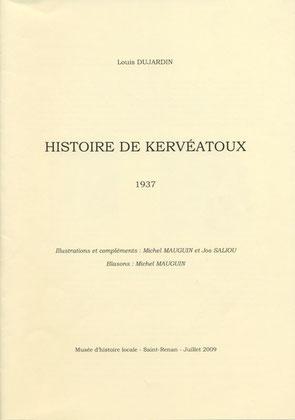 Histoire de Kervéatoux. 10 €