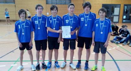 WK III m - Platz 2: Oberschule Olbernhau