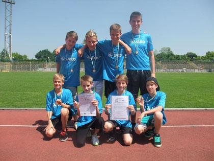 Platz 1 WK IV m Gymnasium Marienberg