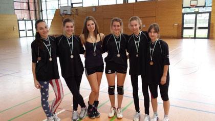 WK III w - PLatz 2: Gymnasium Zschopau