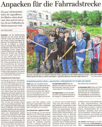 """Artikel aus der """"Freien Presse""""vom 30.05.2013"""