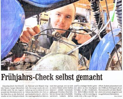 """Artikel aus der """"Blick"""" vom 31.03.11"""