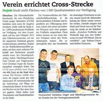 "Presseartikel aus dem ""Blick"" am 24.11.2012"