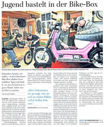 """Artikel aus der """"Freie Presse"""" vom 15.01.11"""