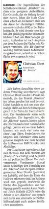 Artikel aus der Freien Presse 15.08.2012