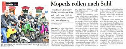 Artikel aus der Freien Presse vom 13.08.2012