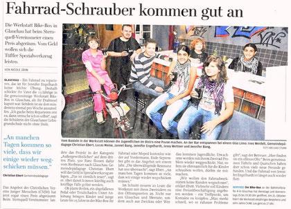 """Artikel aus der """"Freien Presse"""" im September 2011"""