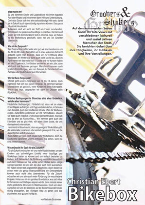 """Artikel aus """"Stadt Land Fluß"""" im Dezember 2011"""