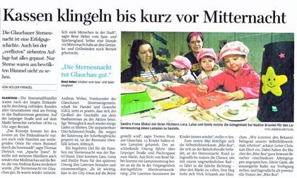 """Artikel aus der """"Freie Presse"""" vom 04.01.11"""