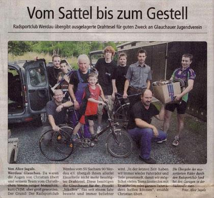 """Artikel aus der """"Sachsenspiegel"""" Juni/2011"""