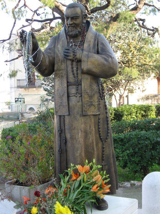 Sian Padre Pio in my town