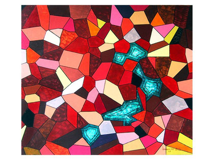 Passion    Acrylic on canvas 80x70 cm  2007