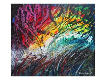 Infringement  Acrylic on canvas  80x70 cm  2007