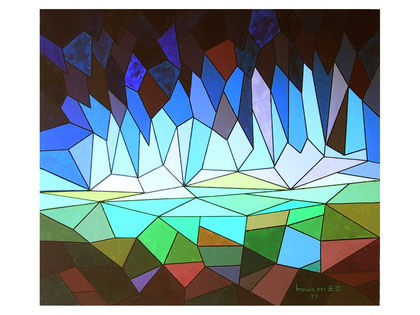 Dawn of colors  Acrylic on canvas  80x70 cm  2007