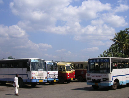 Busbahnhof beim Hafen