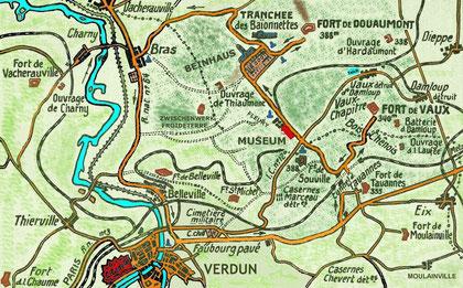 Zentrales Schlachtfeld Www Verdunbilder De Fotos Vom