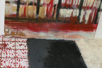 Nathalie Arun, Installation Blood Ashes Hope 2013