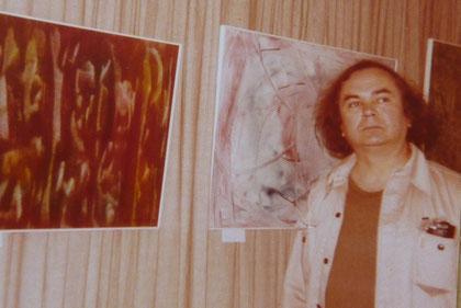 1974 Kobylansky Ausstellung Malkasten Düsseldorf