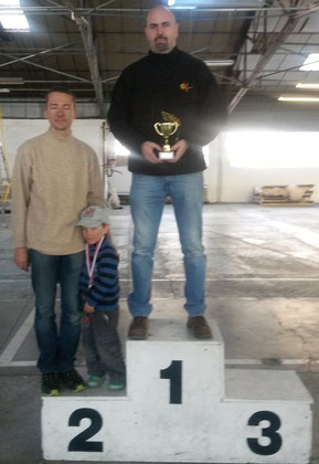 Le podium des SuperMaster