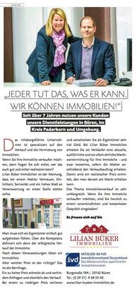 Wir im HOCHGLANZ Magazin im Bürener Teil.