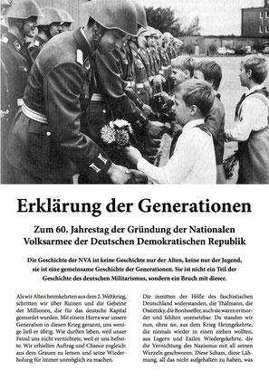 Erklärung der Generationen