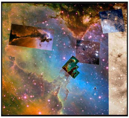 Messier 16 Image credit: NASA, ESA and the Hubble Heritage Team