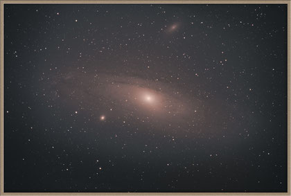 Messier 31 - Andromedagalaxie our first capture - unsere erste Aufnahme :-)