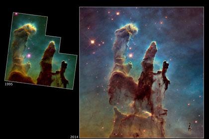 Messier 16 Photo credit: NASA, ESA, STScI, and J. Hester and P. Scowen (Arizona State University)