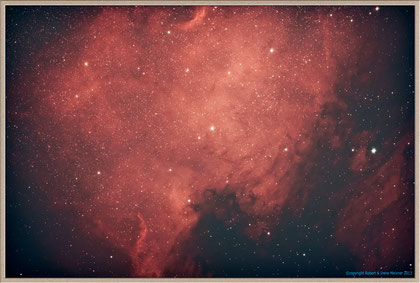 NGC 7000 Northamerica Nebula - processing variation MeixnerObservatorium