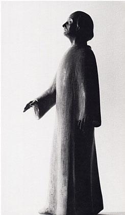 DER BLINDE 1966, Bronze, Höhe 44 cm