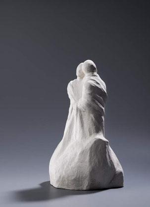 EINER TRAGE DES ANDEREN LAST (GAL 6.2), Bronze H 33 cm, 2011