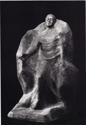 DER BLINDE 1979, Bronze, Höhe 62 cm