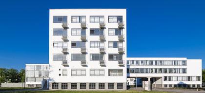 Bauhaus Dessau Ostansicht © Dr. Ralph Fischer
