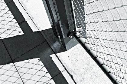 Haus Le Corbusier Eingangsbereich Strassenseite Brüstung © Dr. Ralph Fischer