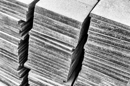HfG Ulm Sanierung Stampfasphaltplatten © Ralph Fischer