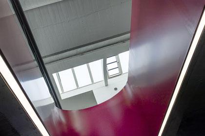 Pausa Tonnenhalle Innenraum Detail © Dr. Ralph Fischer
