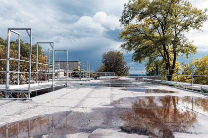 HfG Ulm Sanierung Dach © Ralph Fischer