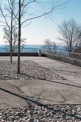 HfG Ulm Terrasse © Ralph Fischer