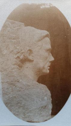 Portraitbüste Steinkühlers von Hanns Hoffmann, Weimar 1920